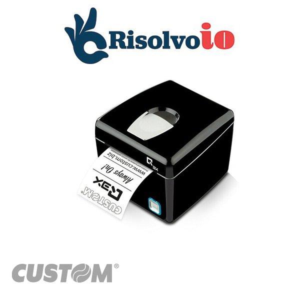 Custom Q3X F RT - Stampante fiscale telematica.